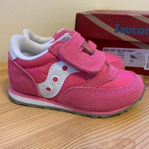Saucony Baby Jazz Hot Pink Toddler Size 6